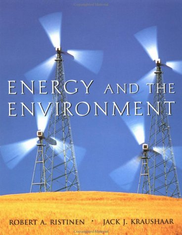 Energy and the Environment 9780471172482