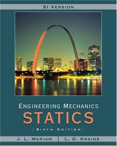 Meriam & Kraige - Engineering Mechanics Statics 6th SI - etext