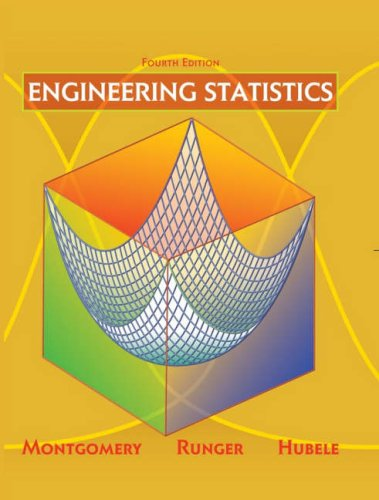Engineering Statistics 9780471735571
