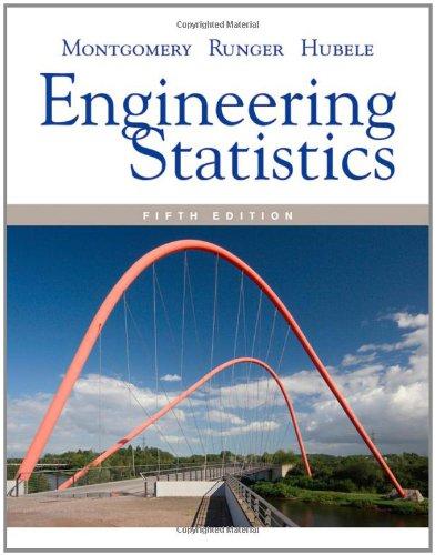 Engineering Statistics 9780470631478