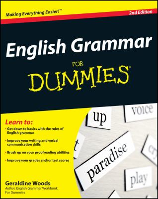 English Grammar for Dummies 9780470546642