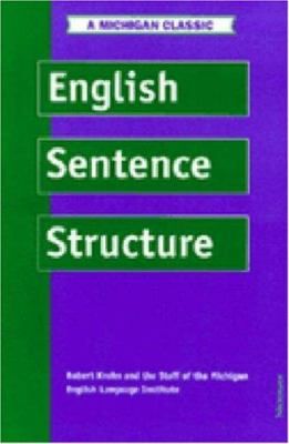 English Sentence Structure 9780472083077