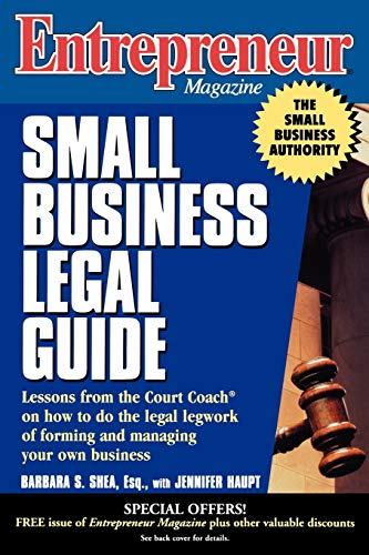 Entrepreneur Magazine: Small Business Legal Guide 9780471119517