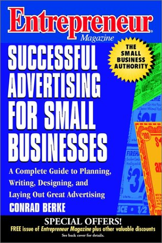 Entrepreneur Magazine: Successful Advertising for Small Businesses 9780471140832