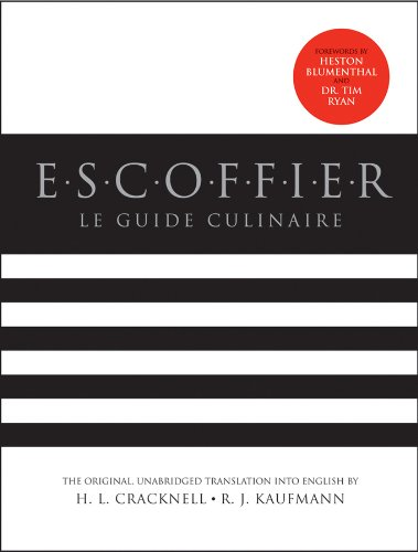 Escoffier: Le Guide Culinaire - 2nd Edition