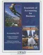 Essentials of Accounting for Business 9780470899007