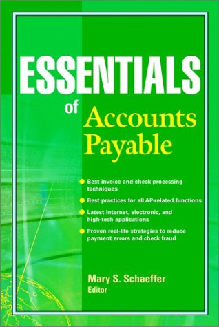 Essentials of Accounts Payable 9780471203087