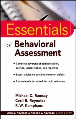 Essentials of Behavioral Assessment 9780471353676