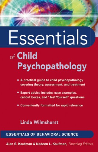 Essentials of Child Psychopathology 9780471656241