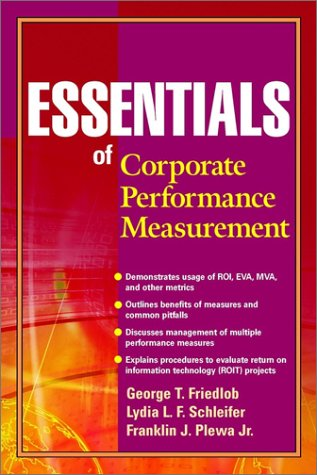 Essentials of Corporate Performance Measurement 9780471203759