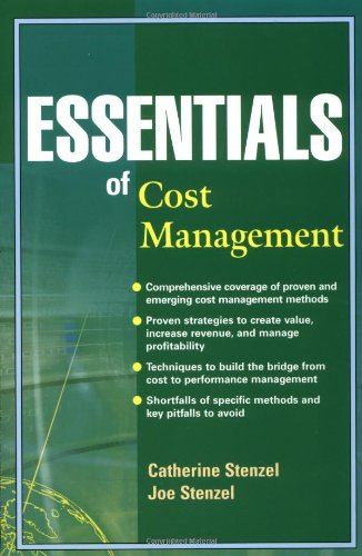 Essentials of Cost Management 9780471227342