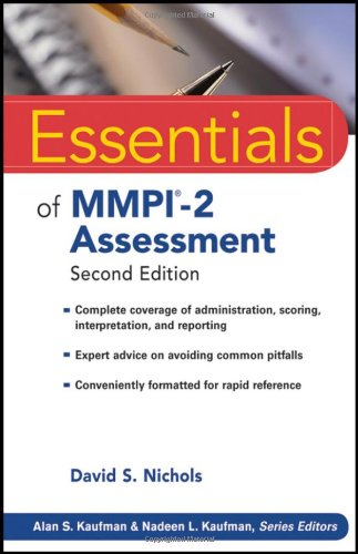 Essentials of MMPI-2 Assessment 9780470923238