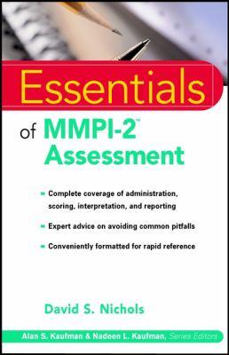 Essentials of MMPI-2tm Assessment 9780471345336