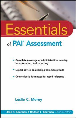 Essentials of PAI Assessment 9780471084631
