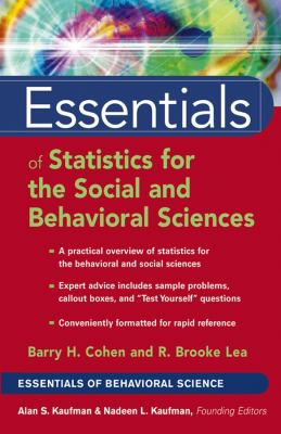 Essentials of Statistics for the Social and Behavioral Sciences 9780471220312