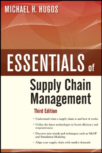 Essentials of Supply Chain Management 9780470942185