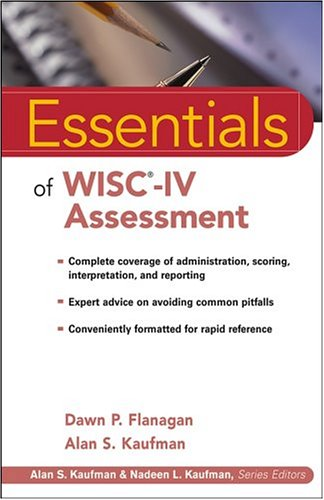 Essentials of WISC-IV Assessment 9780471476917