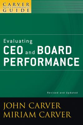 Evaluating CEO and Board Performance 9780470392560