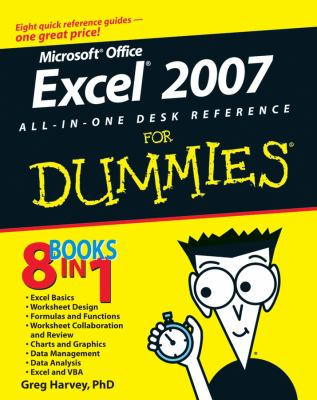 Excel 2007 All-In-One Desk Reference for Dummies 9780470037386