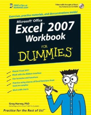 Excel 2007 Workbook for Dummies [With CDROM] 9780470169377