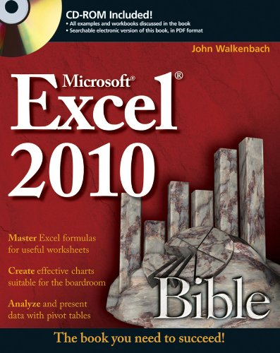 Excel 2010 Bible [With CDROM] 9780470474877