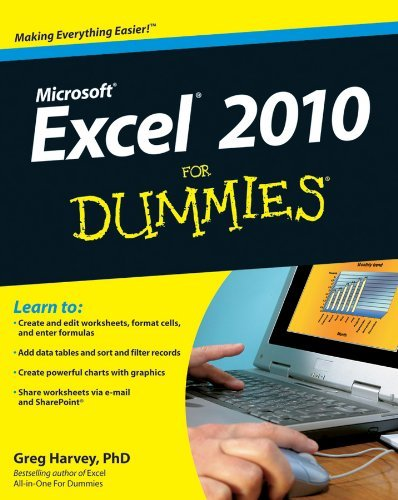 Excel 2010 for Dummies 9780470489536