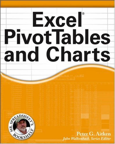 Excel PivotTables and Charts 9780471772408