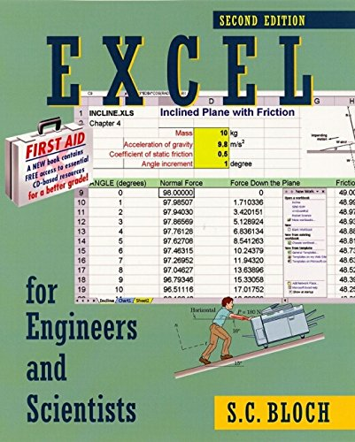 Excel for Engineers and Scientists [With CDROM] 9780471256861