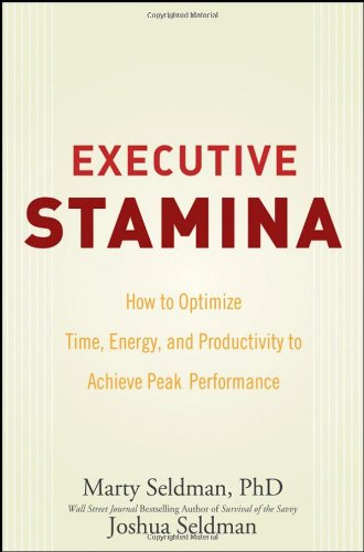 Executive Stamina: How to Optimize Time, Energy, and Productivity to Achieve Peak Performance 9780470222904