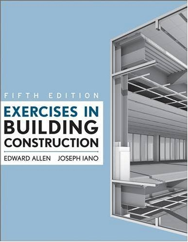 Exercises in Building Construction 9780470381007