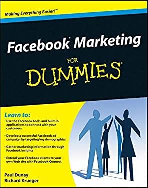 Facebook Marketing for Dummies 9780470487624