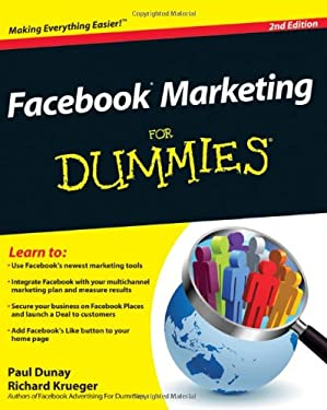 Facebook Marketing for Dummies 9780470923245