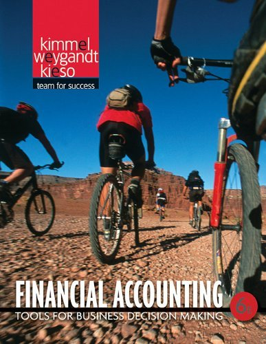 Financial Accounting: Tools for Business Decision Making 9780470534779