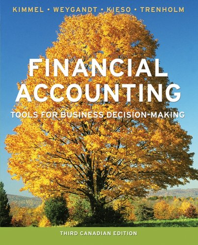 Financial Accounting: Tools for Business Decision-Making 9780470836798