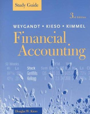Financial Accounting, Study Guide 9780471372660