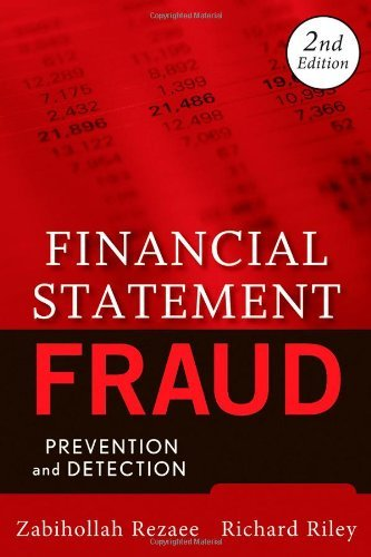 Financial Statement Fraud: Prevention and Detection 9780470455708