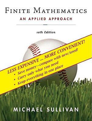 Finite Mathematics: An Applied Approach, Binder Ready Book 9780470279922