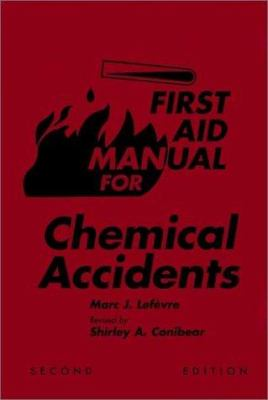 First Aid Manual for Chemical Accidents 9780471288558