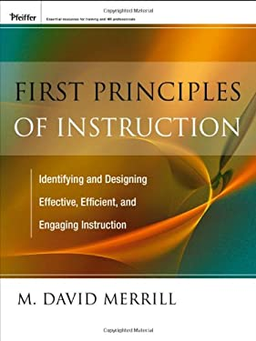 First Principles of Instruction 9780470900406