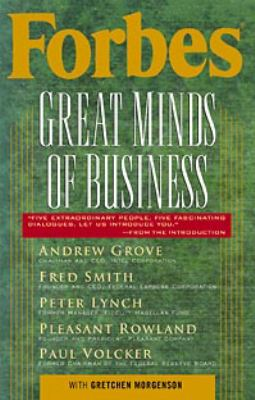 Forbes Great Minds of Business 9780471315803