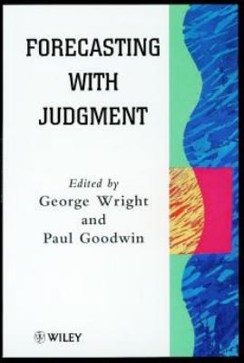 Forecasting with Judgment 9780471970149