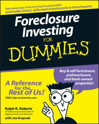 Foreclosure Investing for Dummies 9780470122181