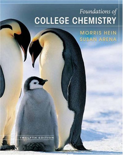 Foundations of College Chemistry 9780471741534
