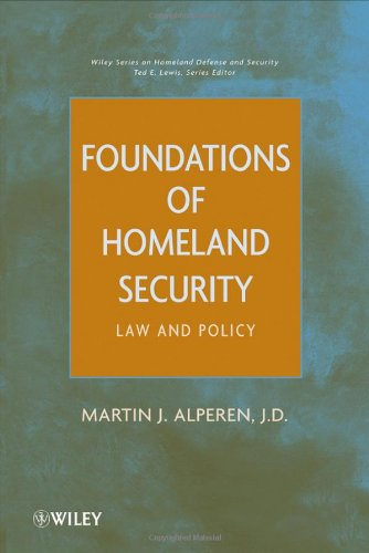Foundations of Homeland Security: Law and Policy 9780470596982