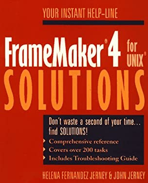 Framemaker 4 for UNIX Solutions 9780471590767