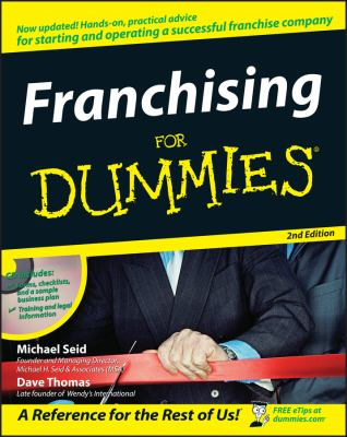 Franchising for Dummies [With CDROM] 9780470045817