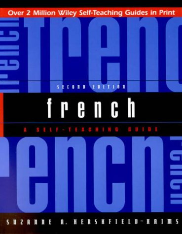 French: A Self-Teaching Guide 9780471369585