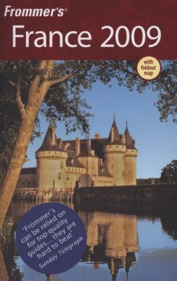 Frommer's France [With Foldout Map] 9780470287859