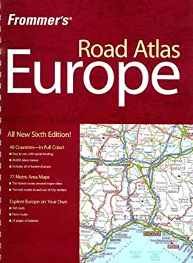 Frommer's Road Atlas Europe 9780470226988