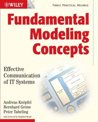 Fundamental Modeling Concepts: Effective Communication of IT Systems 9780470027103